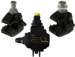 Street light insulation piercing connector : Street light