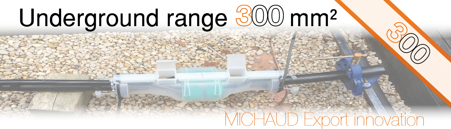 New underground range 300 mm²