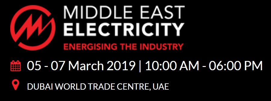 MICHAUD Export at MEE, Middle East Electricity from 05 to 07 March 2019