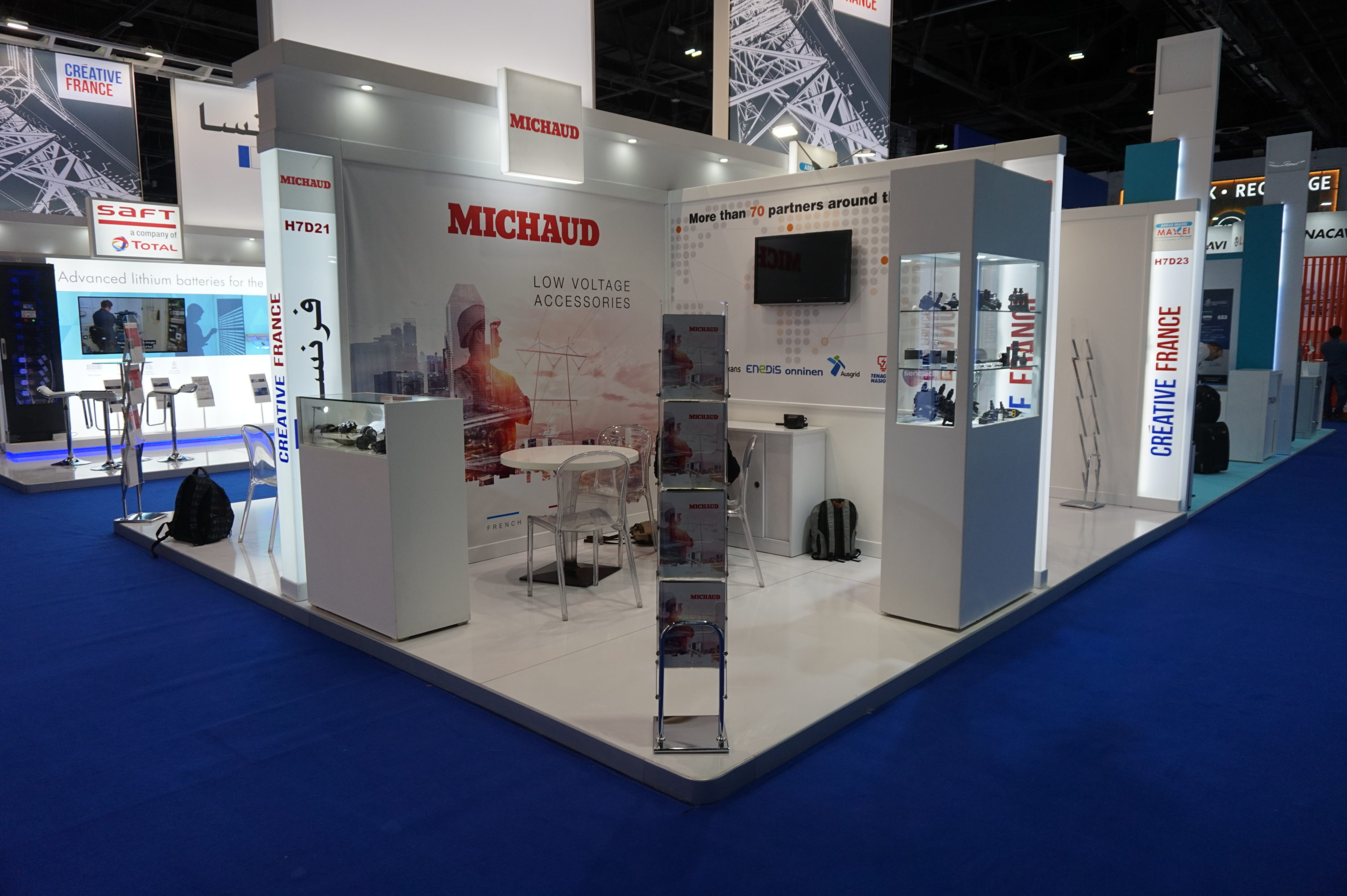 Stand Michaud salon Middle Electricty 2019