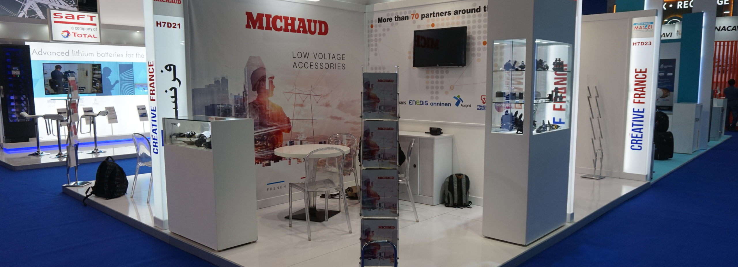 Booth Michaud show Middle Electricty 2019